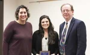 Graduation Specialist Mrs. Kudlac Recognized at Board Meeting